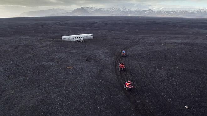 South Coast & Black Beach Ride - From Reykjavík
