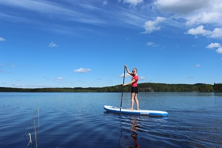 Stand Up Paddile (SUP) retki Vatiajärvelle Laukaa