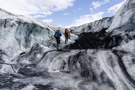 Glacier Walk on Sólheimajökull Glacier
