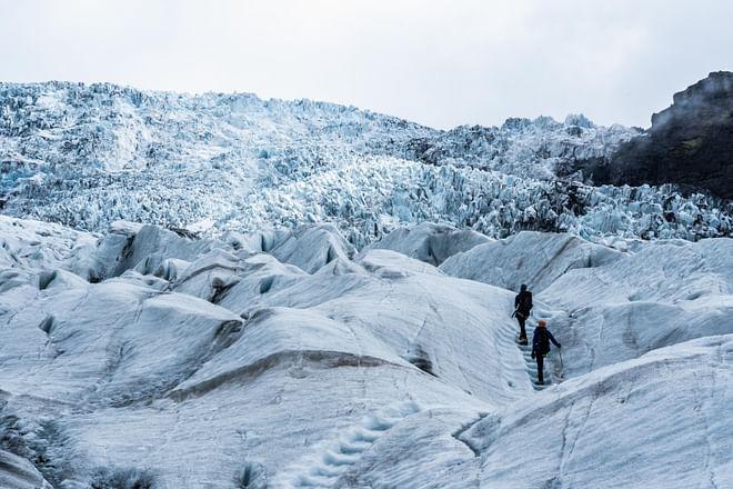 Glacier Encounter - In South Iceland