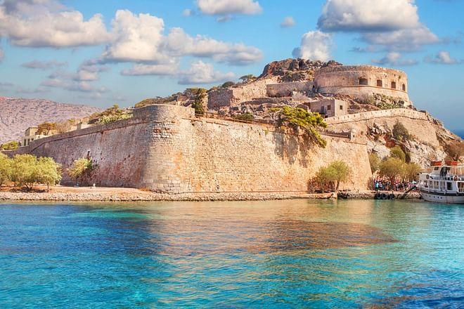 Crete - Spinalonga Island ruins
