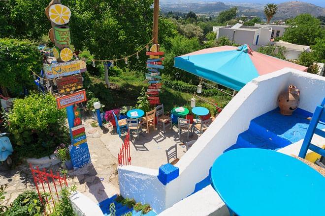 Tavern in Zia, Kos Island, Greece