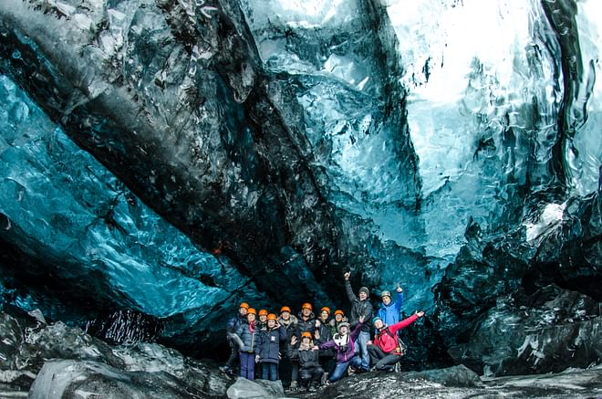 Ice Cave Tour - In South Iceland