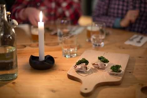 Food samples cheers to Reykjavik