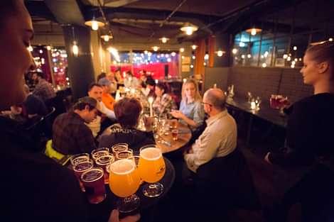 People Enjoying Cheers to Reykjavik Tour