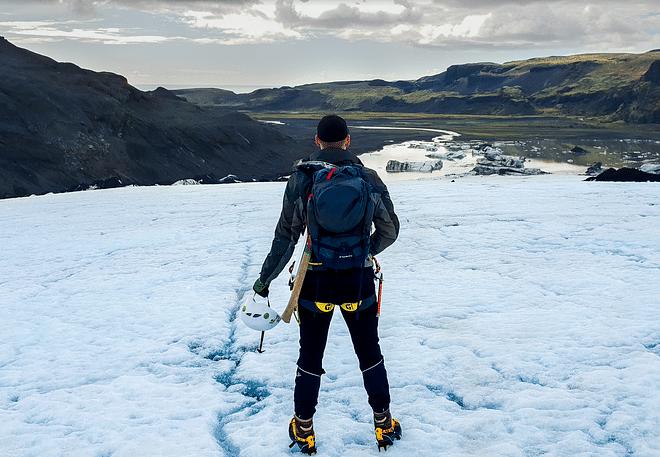 Sólheimajökull Glacier Hike - In South Iceland