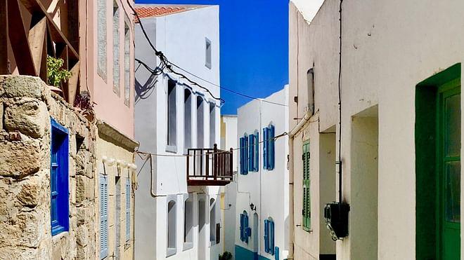 Nikia Village, Nisyros, Greece