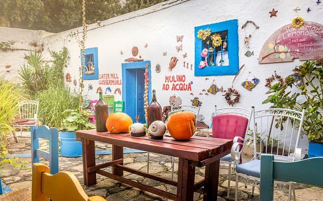 A Taverna in Zia, Kos Island, Greece