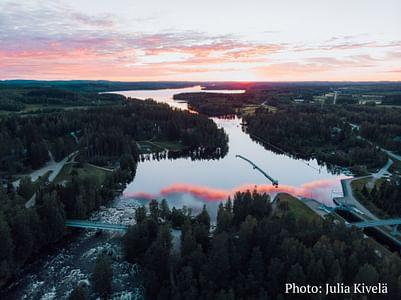 Kolmen kanavan risteily Jyväskylään Laukaa