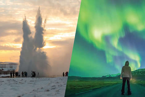 Reykjavik Sightseeing - Golden Circle and Northern Lights tour