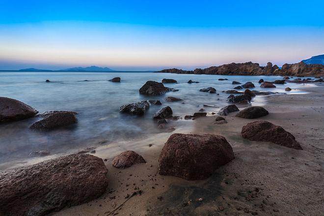 Kos Island - Sunset at the Kefalos beach