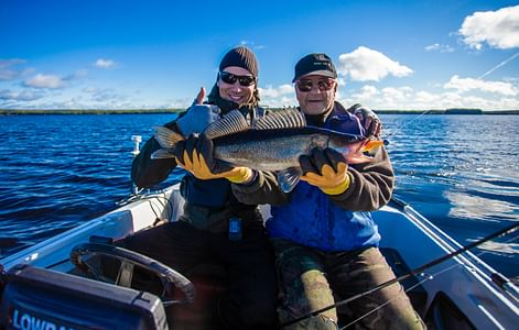 Kalahaukkapalvelut Opastettu kalastusretki Keitele-järvellä Viitasaari