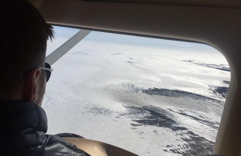 Approaching Vatnajökull Glacier