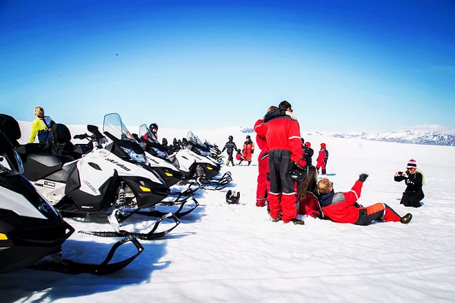 Snowmobile Adventure on Europe´s Largest Glacier, Vatnajökull