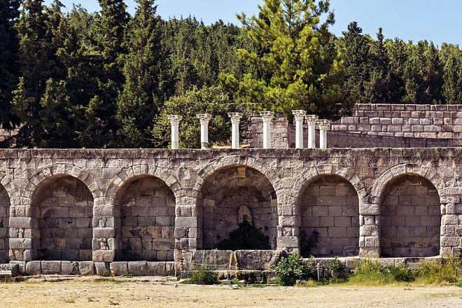 Ruinen von Asklepieion, Kos-Insel, Griechenland