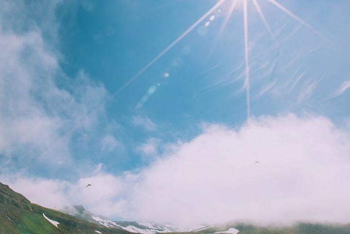 Hornvík on a sunny day
