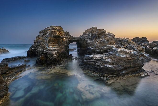 Kos Island - Beautiful rock formation at Agios Theologos in Kefalos