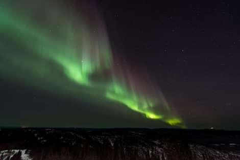 Norðurljós Northern Lights over Iceland