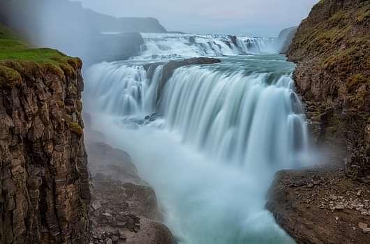 Gullfoss waterfall in the Golden Circle day tour