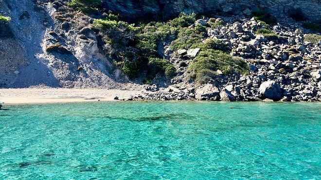 Nisyros - Volcanic beach