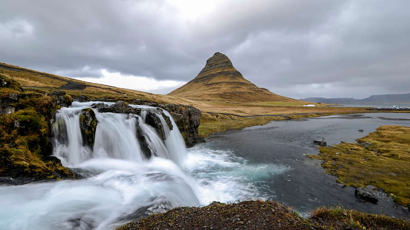 Mt. Kirkjufell, one of Iceland's most photographed spots