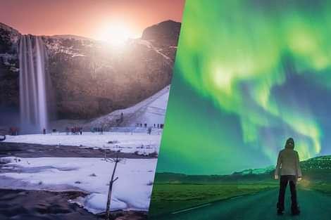 Reykajvik Sightseeing - South Coast and Northern Lights tour