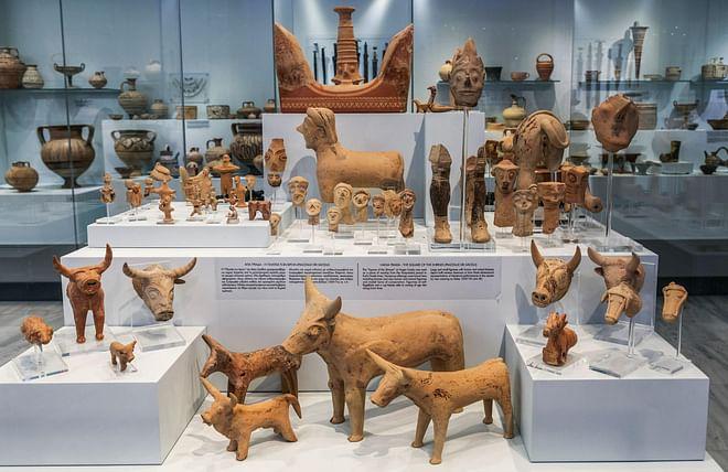 Knossos Archaeological Museum in Heraklion, Crete, Greece