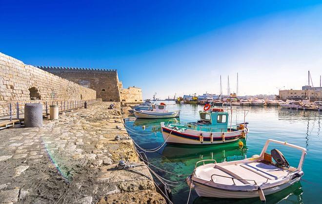 Heraklion Port, Crete, Greece