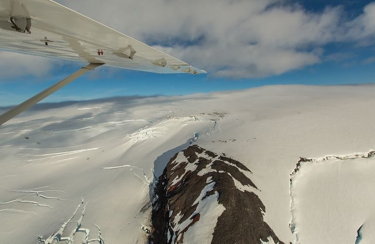 Have you ever been so close to a glacier ?