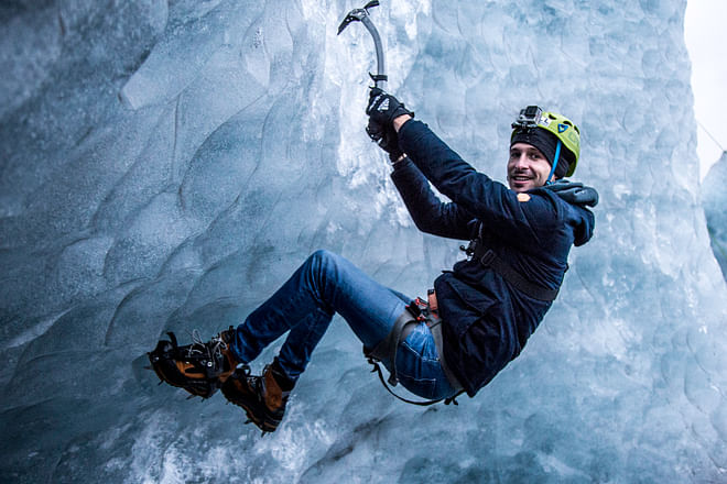 Sólheimajökull Ice Climbing & Glacier Hike - In South Iceland
