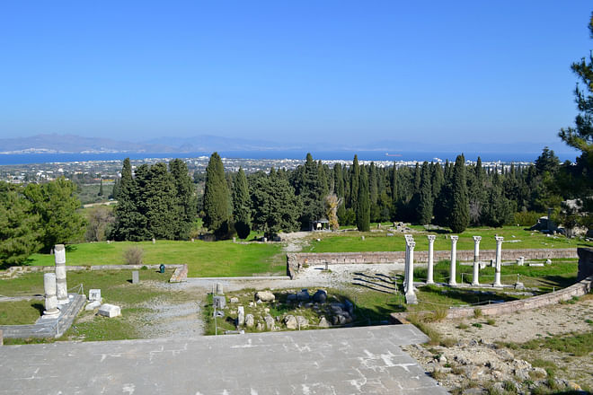 Asklipion Ruinen, Kos Insel, Griechenland