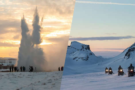 Reykjavik Sightseeing - Golden Circle and Glacier tour