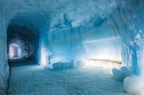 Ice Cave at Langjökull