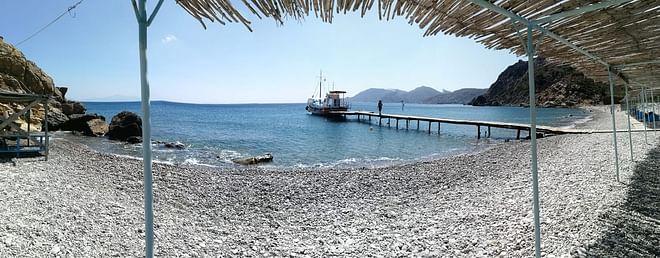 Kos Island - Kamari Boat at Kefalos beach