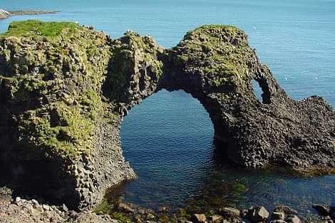 Coast of Iceland in Snæfellsnes peninsula